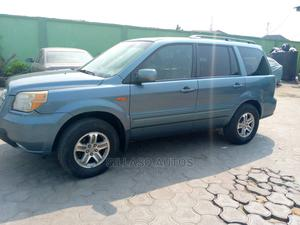 Honda Pilot 2005 EX 4x4 (3.5L 6cyl 5A) Blue | Cars for sale in Lagos State, Ikoyi