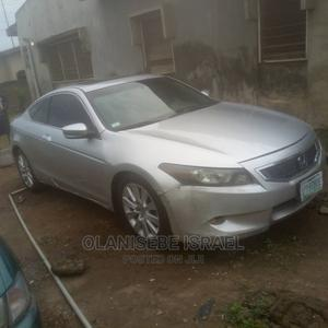 Honda Accord 2010 Coupe EX-L V-6 Automatic Silver | Cars for sale in Lagos State, Ajah