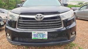 Toyota Highlander 2015 Black | Cars for sale in Abuja (FCT) State, Central Business Dis