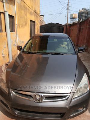 Honda Accord 2007 2.4 Gray | Cars for sale in Lagos State, Ikorodu