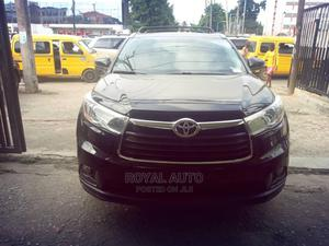 Toyota Highlander 2015 Black | Cars for sale in Lagos State, Ogba