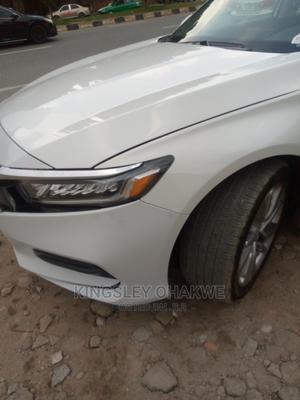 Honda Accord 2019 LX (1.5L 4cyl Turbo CVT) White   Cars for sale in Abuja (FCT) State, Karu