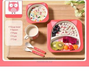 5 in 1 Kids Sets Plates   Baby & Child Care for sale in Lagos State, Lagos Island (Eko)