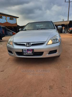 Honda Accord 2007 Sedan LX Silver   Cars for sale in Osun State, Osogbo