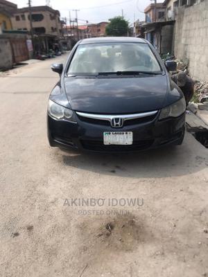 Honda Civic 2008 1.6i ES Black   Cars for sale in Lagos State, Alimosho
