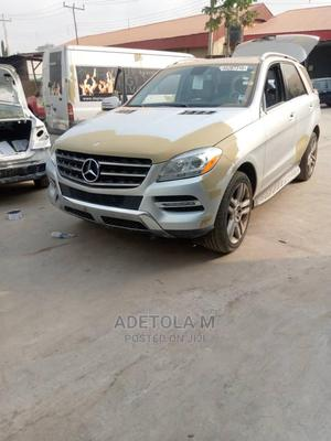 Mercedes-Benz M Class 2013 ML 350 4Matic Silver | Cars for sale in Oyo State, Ibadan