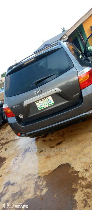Toyota Highlander 2009 Gray   Cars for sale in Oyo State, Ibadan