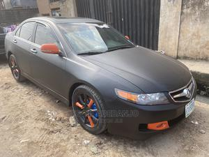 Acura TSX 2007 Automatic Black   Cars for sale in Lagos State, Surulere