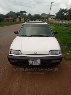 Honda Civic 1990 1.6i VT White   Cars for sale in Plateau State, Jos