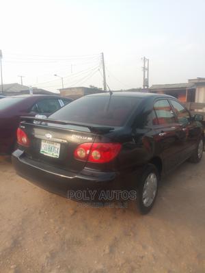 Toyota Corolla 2004 Sedan Automatic Black | Cars for sale in Lagos State, Alimosho