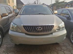 Lexus RX 2008 350 Silver   Cars for sale in Lagos State, Alimosho