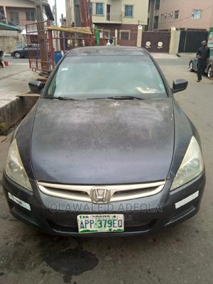 Honda Accord 2007 2.0 Comfort Automatic Gray   Cars for sale in Lagos State, Surulere