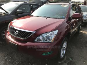 Lexus RX 2009 350 AWD Red   Cars for sale in Lagos State, Apapa