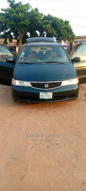 Honda Odyssey 2021 Green   Cars for sale in Lagos State, Ifako-Ijaiye