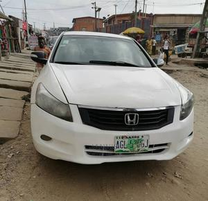 Honda Accord 2009 White   Cars for sale in Lagos State, Ogba