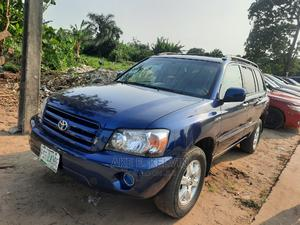 Toyota Highlander 2006 Limited V6 Blue | Cars for sale in Lagos State, Amuwo-Odofin