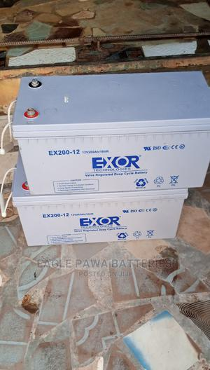 Exor Inverter Battery 200ah | Vehicle Parts & Accessories for sale in Lagos State, Maryland