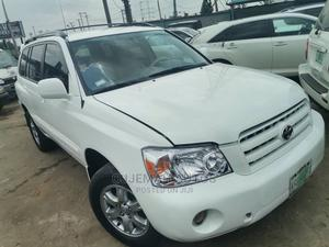 Toyota Highlander 2005 White | Cars for sale in Lagos State, Ogba
