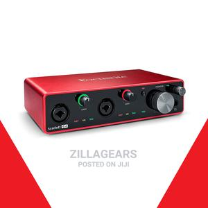 Focusrite Scarlett 4i4 3rd Gen USB Sound Card   Audio & Music Equipment for sale in Lagos State, Ikotun/Igando