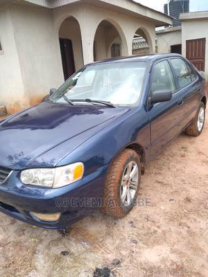 Toyota Corolla 2001 Sedan Blue   Cars for sale in Ogun State, Ewekoro