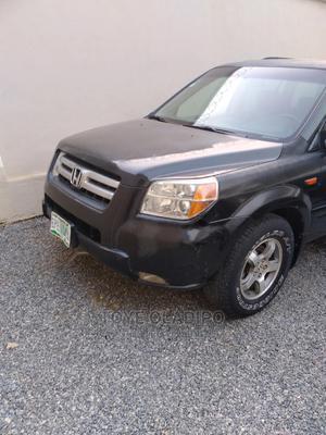 Honda Pilot 2006 EX-L 4x2 (3.5L 6cyl 5A) Black   Cars for sale in Lagos State, Ojodu