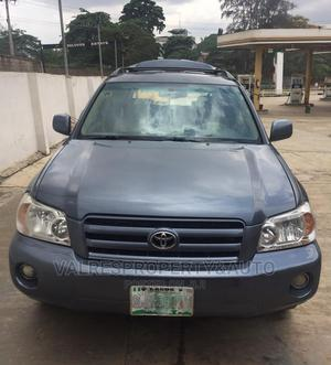 Toyota Highlander 2005 4x4 Blue | Cars for sale in Lagos State, Isolo