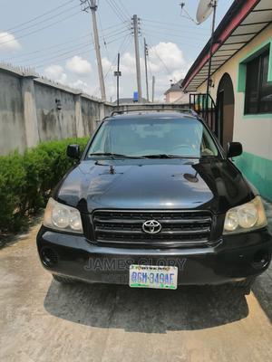 Toyota Highlander 2004 Limited V6 FWD Black | Cars for sale in Rivers State, Port-Harcourt