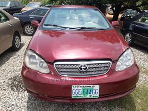 Toyota Corolla 2006 LE Red | Cars for sale in Abuja (FCT) State, Kubwa