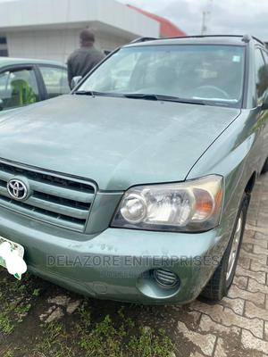 Toyota Highlander 2004 V6 AWD Green | Cars for sale in Kwara State, Ilorin South