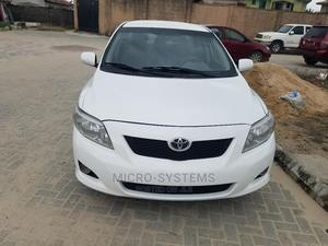 Toyota Corolla 2009 White   Cars for sale in Lagos State, Ajah