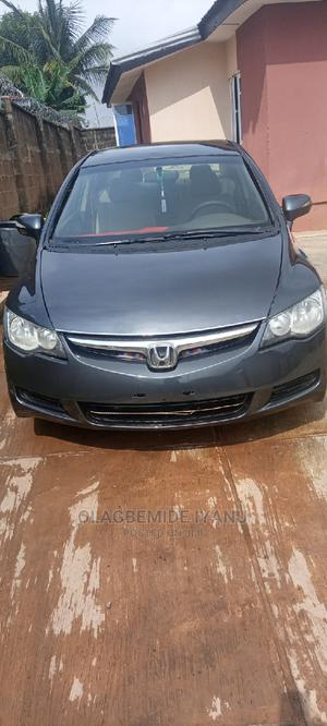 Honda Civic 2008 1.8i VTEC Automatic Gray | Cars for sale in Oyo State, Egbeda