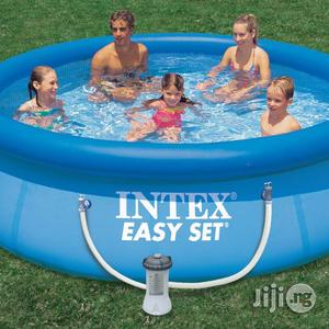 Inflatable Swimming Pool Easy Set 10ft X 30   Sports Equipment for sale in Lagos State, Ikeja