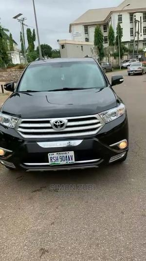 Toyota Highlander 2012 Limited Black | Cars for sale in Abuja (FCT) State, Wuse