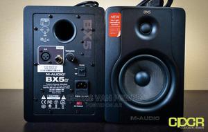 M Audio BX5 D2 Powered Studio Monitor   Audio & Music Equipment for sale in Lagos State, Ojo
