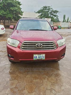 Toyota Highlander 2008 Red | Cars for sale in Abuja (FCT) State, Karu