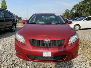Toyota Corolla 2010 Red | Cars for sale in Abuja (FCT) State, Gwarinpa