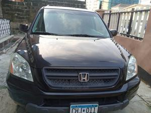 Honda Pilot 2004 EX 4x4 (3.5L 6cyl 5A) Black | Cars for sale in Lagos State, Ipaja