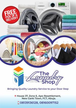 Laundry Services | Cleaning Services for sale in Abuja (FCT) State, Apo District