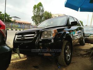 Honda Pilot 2006 EX-L 4x2 (3.5L 6cyl 5A) Black   Cars for sale in Lagos State, Ikeja
