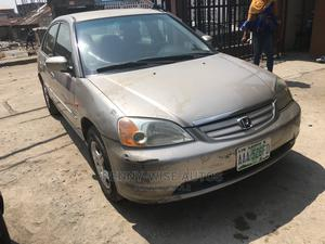 Honda Civic 2002 Silver | Cars for sale in Lagos State, Surulere