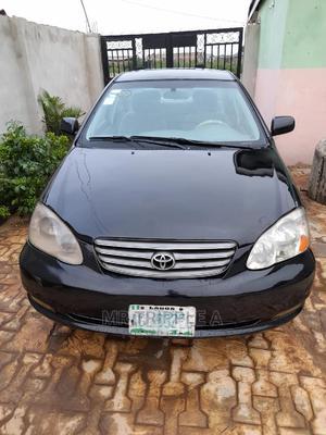 Toyota Corolla 2004 Sedan Automatic Black   Cars for sale in Ogun State, Ifo
