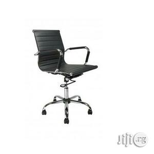 Blaze Black Chrome Executive Office Chair   Furniture for sale in Lagos State, Yaba