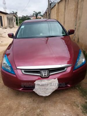 Honda Accord 2005 2.0 Comfort Red | Cars for sale in Lagos State, Ikeja
