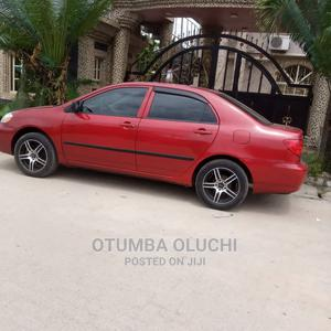 Toyota Corolla 2007 Red | Cars for sale in Lagos State, Surulere