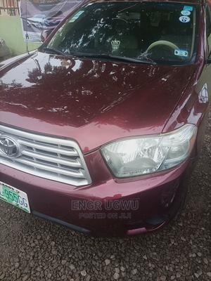 Toyota Highlander 2008 Red | Cars for sale in Abuja (FCT) State, Garki 2