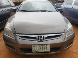 Honda Accord 2007 2.0 Comfort Gray | Cars for sale in Lagos State, Ikeja