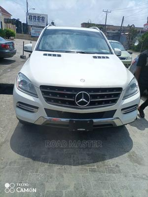 Mercedes-Benz M Class 2012 ML 350 4Matic White | Cars for sale in Lagos State, Ojo