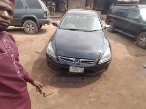 Honda Accord 2005 Sedan EX Automatic Black | Cars for sale in Lagos State, Ogba