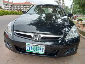 Honda Accord 2005 2.0 Comfort Automatic Black | Cars for sale in Ondo State, Akure