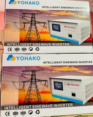 Yohako 1.5kva 12v Pure Sine Wave Inverter | Solar Energy for sale in Lagos State, Ajah